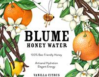 Blume Honey Water Illustrations