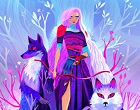 Skadi goddess of winter