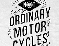 Not ordinary motorcycles