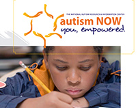 poster design for Autism Now