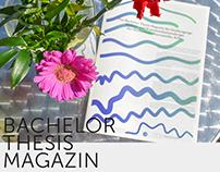 """Bachelor Thesis Magazin"" Auftraggeber Macromedia"