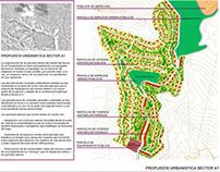 """Desarrollo Urbanístico """"La Piñana"""". Huesca."""