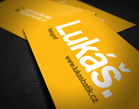 Business cards for independent photographer