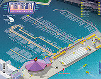 Illustrated Marina Maps For Boat Shows