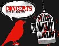 Concerts Usine à Chapeaux 2011