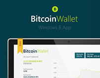 BitcoinWallet Windows 8 App