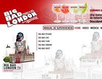 Trial Big Bad London by Beefeater Website redesign