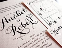 Anabel & Robert's Wedding Invitation
