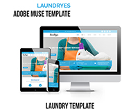 Laundryes - Laundry Business Muse Template