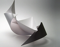 3 Score 2 Cut Studies with Water Color Interpretation