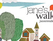 Jane's Walk Poster Competition Entry