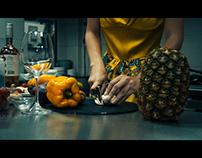 Christine on kitchen