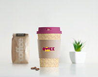 Quikk Cup; Coffee House Branding and Packaging