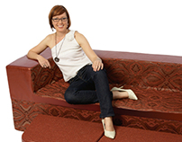 FURNITURE: Morpha Convertible Sofa / Double Mattress