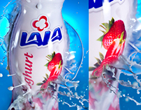 Lala Yoghurt Splash Photography