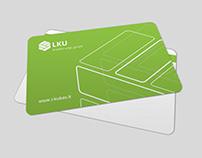 """""""LKU"""" banko kortelių dizainas"""