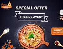 ui/ux #Postdesign #Pizzabanner #moderndesign