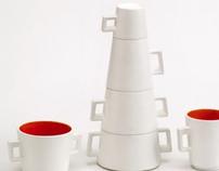 Totem breakfast cup set