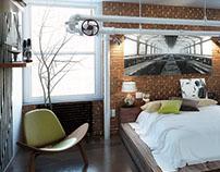 -industrial loft-