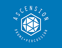 Acension Drums + Percussion logo