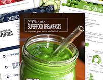 Smoothie Cookbook Design