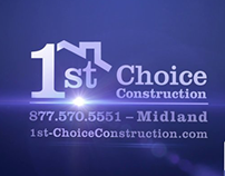 1st Choice Construction Broadcast TV