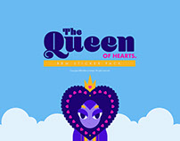 Queen of Hearts Sticker Pack