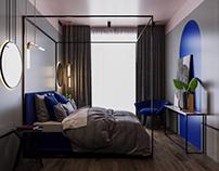 Bedroom in townhouse 3