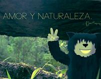 Paz, amor y naturaleza.