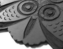 Lino print - M.C Escher Inpsired