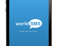 World SMS Concept