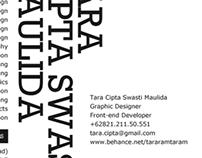 My Typographic Resume