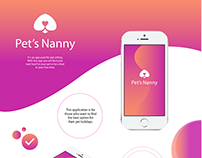 Pet's Nanny - App Interaction