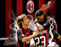 AC-Milan vs.Hungarian League Team