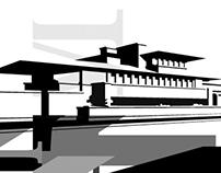 Frank Lloyd Wright poster