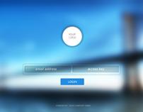 Login System UI