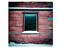 Window. House. Cheboksary. Russia