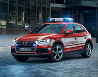Audi Q5 Emergency Vehicle - CGI Car