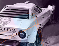 Lancia Stratos | Illustration