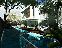 First one.....Modern Villa