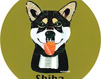 024 | Shiba (black)