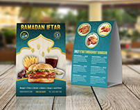 Restaurant Table Tent Template Vol.17