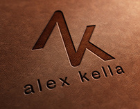 Alex Kella Logo Design