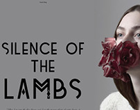 THE SILENCE OF THE LAMBS fashion editorial