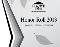 Hospice House: 2013 Honor Roll