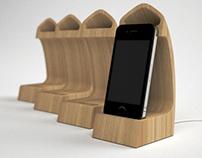 Scaleno | iPhone docking station