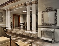 Classic interior design project.