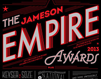 Empire Awards Lettering Piece