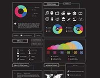 My life - Infographic