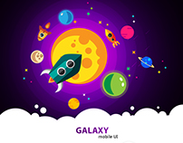 Galaxy Mobile UI